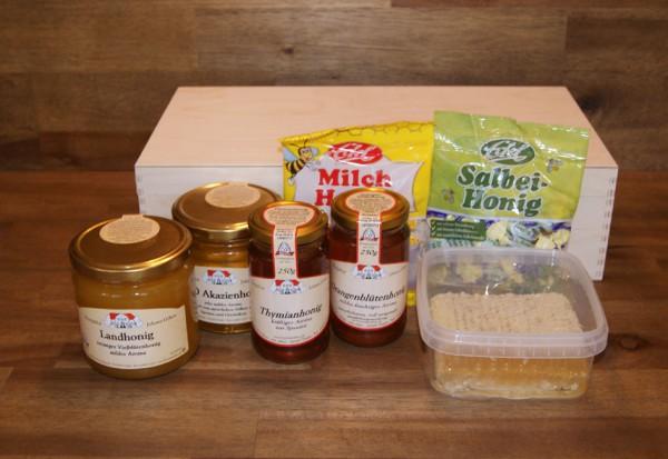 Koffer für den Honigfreund